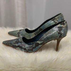 Schutz snakeskin pattern heels size 10B